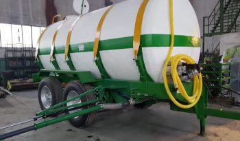 Cuba 14000 litros de riego eje tandem completo
