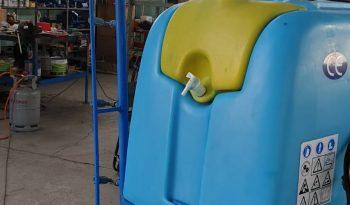 Cuba 600 litros con barra y electrovalvula completo