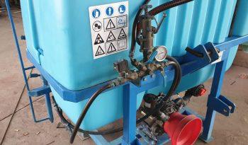Cuba 600 litros con barra y electrovalvula lleno
