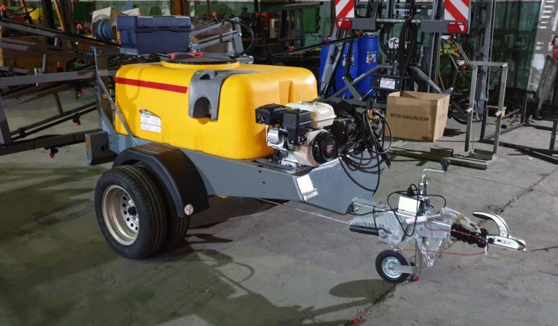 Carro 600 litros para herbicida lleno