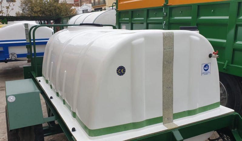 Cuba 2000 litros lleno
