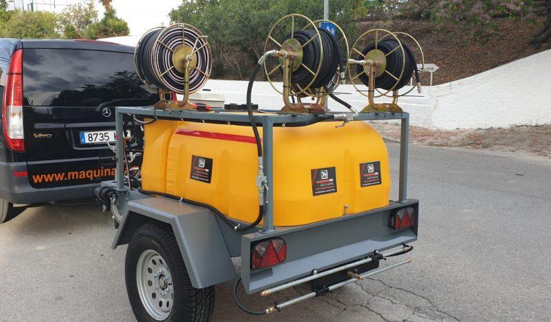 Cuba multifunción Covid-19 1000 litros lleno